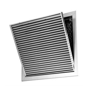 PROFLO® 24 x 14 in. Aluminum Filter Grille with Horizontal Blade PSAH45FGW2414