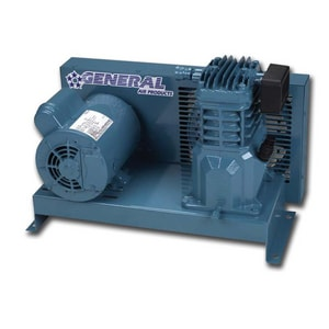 General Air Products 1/3 hp Single Phase Oil Lubricant Compressor Base Mount GL20033A