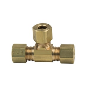 PROFLO® OD Compression Domestic Brass Tee PFXCTN