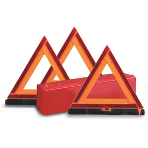 Deflecto Early Warning Triangle Kit in Orange D73071100