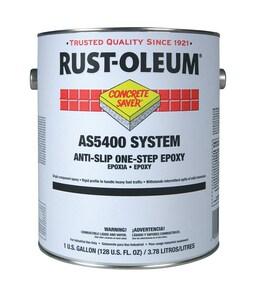 Rust-Oleum® Concrete Saver® 1 Gallon Anti-Slip Epoxy Paint in Dunes Tan RAS5471402 at Pollardwater