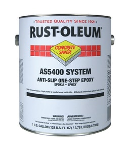 Rust-Oleum® Concrete Saver® 1 Gallon Anti-Slip Epoxy Paint in Navy Grey RAS5486402