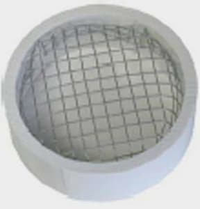 Raven Products 3 in. Stainless Steel PVC Termination Vent Screen RTVSS3
