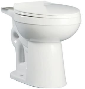 PROFLO® Jerritt Series 1.6 gpf Elongated Toilet Bowl in Biscuit PF1401TBS