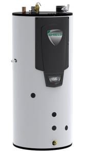 Lochinvar Shield™ 125 gal Tall 500 MBH Commercial Natural Gas Water Heater LSNA501125