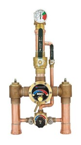 Leonard Valve Eco-Mix™ 2 in. Inlet x Outlet Thermostat Mixing Valve LTM2020BLFDT
