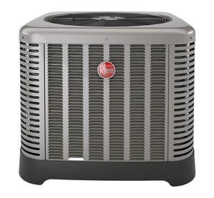 Rheem RA14 Series 1.5 Ton 14 SEER 1/10 hp Single-Stage R-410A Split-System Air Conditioner RA1418AJ1NA