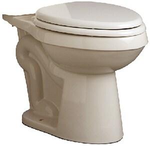 Mirabelle® Bradenton 1.28 gpf Round Floor Mount Toilet Bowl in Biscuit MIRBD230BS