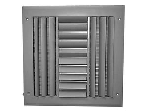 PROSELECT® 12 x 12 in. Ceiling & Sidewall Register Residential in White 4-way Aluminum PSA4CW1212