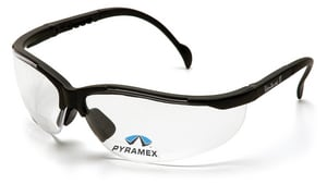 Pyramex Safety Products Venture II Black Frame Safety Glasses PSB1810R