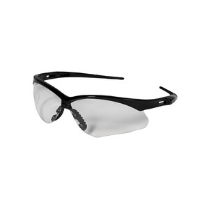 Jackson Safety Nemesis™ Safety Glasses with Clear Lens And Black Frame J25676