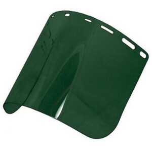 Jackson Safety Face Shield in Medium Green (Case of 36) S29101