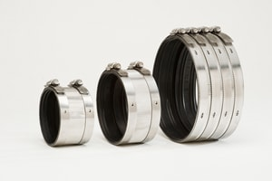 10 in. No-Hub Stainless Steel Coupling DNHC10
