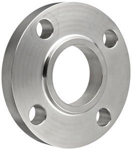 1/2 in. Slip-On 150# 304L Stainless Steel Raised Face Flange IS4LRFSOF