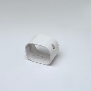 Rectorseal Slimduct® Slip-Joint Coupling 77 Ivory REC86030