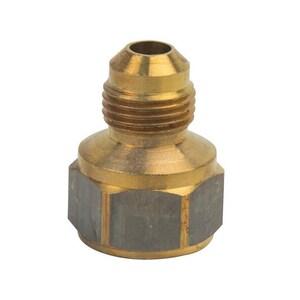 Brass Craft 5/8 x 1/2 in. OD Flare x FIP Brass Union B46108