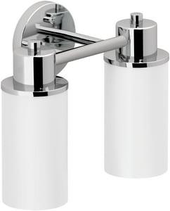 Moen Iso™ 13 in. Medium Base Globe Bath Light in Polished Chrome CSIDN0762