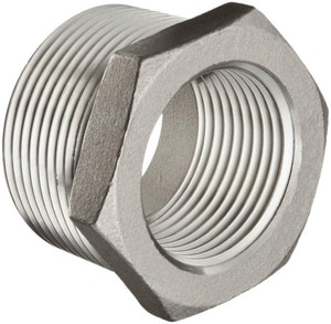 3/4 x 1/2 in. Threaded 150# 316 Stainless Steel Bushing IS6CTBFD