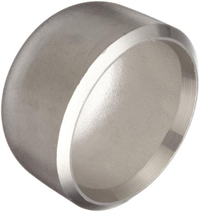 8 in. Schedule 10 316L Stainless Steel Cap IS16LWCAPX