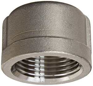 1-1/4 in. Threaded 150# 304L Stainless Steel Cap IS4CTCAPH