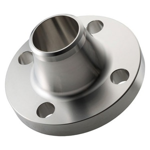 1-1/4 in. Weldneck 300# Standard 304L Stainless Steel Raised Face Flange IS3004LRFWNFH
