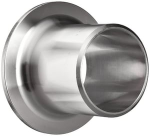 10 in. Schedule 10 304L Stainless Steel Type A Stub End IS14LWSEA10