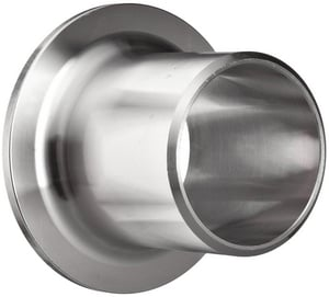 8 in. Schedule 10 316L Stainless Steel Stub End IS16LWSEAX