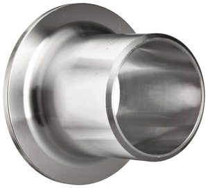 3 in. Schedule 40 316L Stainless Steel Stub End IS46LWSEAM
