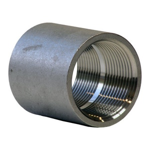 1/2 in. Threaded 150# 316 Stainless Steel Coupling IS6CTCD