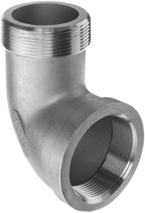 Threaded 150# 304L Stainless Steel Street 90 Degree Elbow IS4CTS9