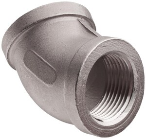 Threaded 150# 316L Stainless Steel 45 Degree Elbow IS6CT4