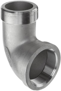 1 in. Threaded 150# 316 Stainless Steel Street 90 Degree Elbow IS6CTS9G