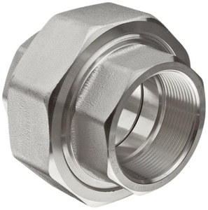 1-1/4 in. Threaded 150# 316 Stainless Steel Union IS6CTUH