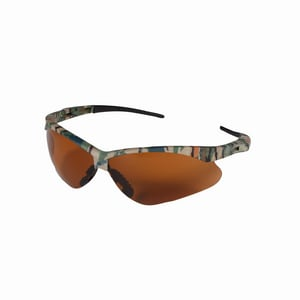 Jackson Safety Nemesis™ Safety Glasses In Camoflage Frame And Brown Lens J19644