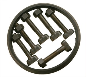 PROSELECT® 10 in. Mechanical Joint C153 Ductile Iron and SBR Bolt Gasket Pack (Less Gland) IMJBGP10 at Pollardwater