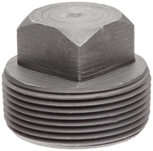 1/4 in. Threaded 6000# Forged Steel Square Head Plug IFSTSPB