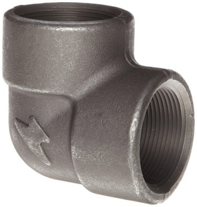 3/4 in. Threaded 2000# Carbon Steel Forged 90 Degree Elbow IFS2T9F