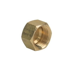 Brass Craft 3/8 in. OD Compression Brass Cap B61CP6X