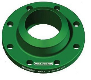 14 in. Weldneck 300# Standard Carbon Steel Raised Face Flange D300RFWNF14