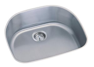 PROFLO® Plomosa 23-3/16 x 20-15/16 in. No-Hole Single Bowl Undermount Kitchen Sink in Stainless Steel PFUC307A