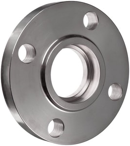 1/2 in. Socket Weld 150# Standard 316L Stainless Steel Raised Face Flange IS6LRFSWFD