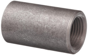 1-1/4 in. Threaded Carbon Steel Weld Straight Coupling IBSCSTH