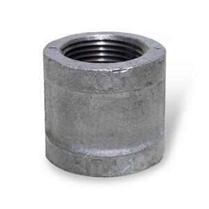 1 in. Threaded Carbon Steel Weld Straight Half Coupling IBSHCSTG