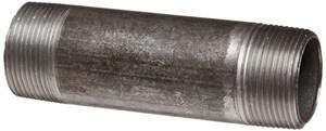 1/8 x 4-1/2 in. Threaded Black Steel Nipple IBNAR