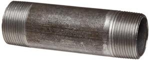 1 in. Threaded Extra Heavy Black Carbon Steel Nipple IBXNG