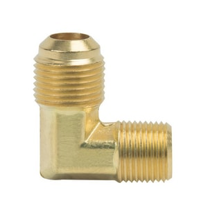 PROFLO® 3/8 x 1/2 in. OD x MIP Brass Floor Elbow PFMFECD