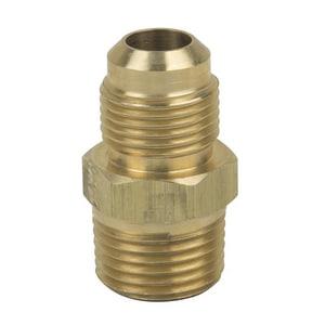 PROFLO® 1/4 x 3/8 in. OD Flare x MIP Brass Union PFMFUBC