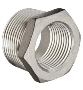 3 x 2-1/2 in. Threaded 150# 316 Stainless Steel Bushing IS6BSTBSP114ML