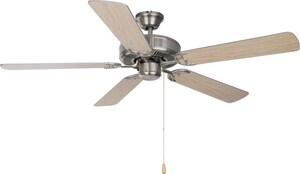 Maxim Lighting International Indoor Ceiling Fan in Satin Nickel M44966049