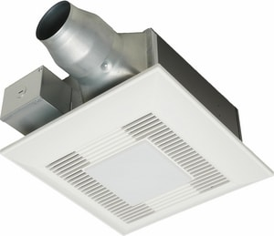 Panasonic WhisperFit® EZ 110 CFM Bathroom Exhaust Fan in White PANFV0811VFL5